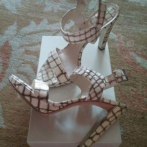 Christian Dior platform shoes